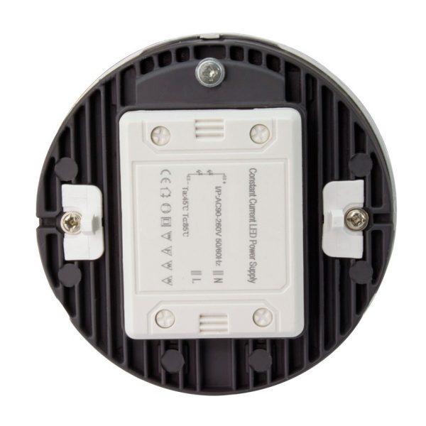Aufbausatz mit runder LED Leuchte 8W