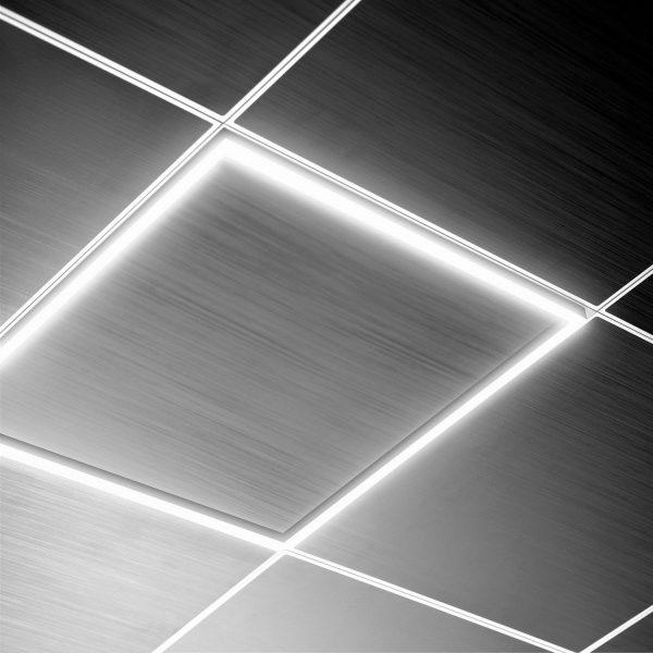 LED-Panel Uniblock mit Leuchtrahmen 60x60cm 40W 3600lm